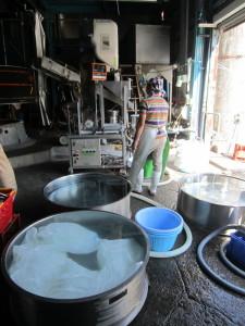洗米浸漬風景